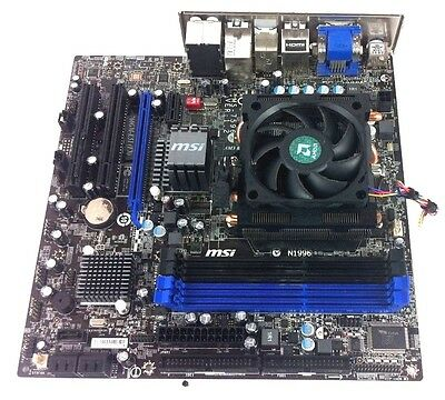 MSI 760GM-E51 Motherboard w/ AMD Phenom II X4 965 Processor