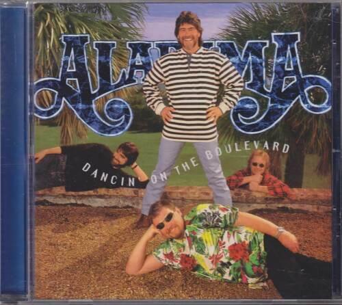 """ALABAMA """"Dancin' On The Boulevard"""" CD-Album"""