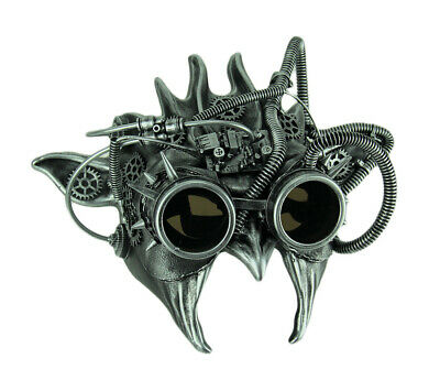 Scratch & Dent Adult Wicked Steampunk Goblin Halloween Mask