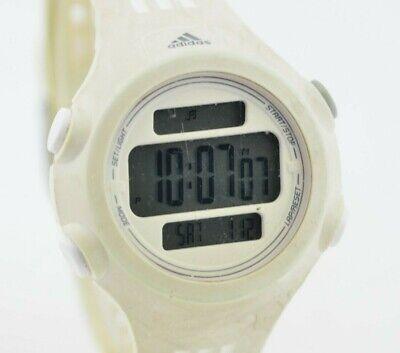 K089 Original Adidas White Digital Sports Chronograph Quartz Watch ADP6087 94.3