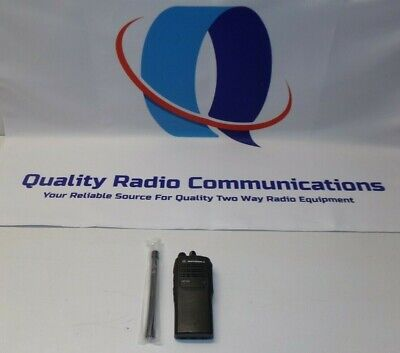 Motorola Ht750 136-174 Mhz Vhf 4 Ch Two Way Radio Aah25kdc9aa2an
