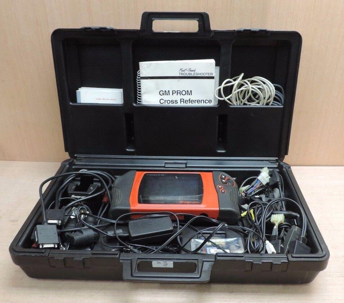 Snap On Modis Eems300 Diagnostic Information System Car