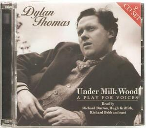 DYLAN THOMAS - UNDER MILK WOOD READ BY RICHARD BURTON & HUGH GRIFFITH CD