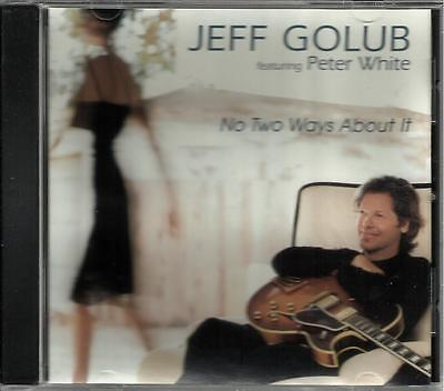 Jeff Golub W  Peter White No Two Ways About It Promo Dj Cd Single Rod Stewart