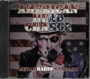 AMERICAN-HEAD-CHARGE-Rare-3-Track-SAMPLER-PROMO-RADIO-DJ-CD-single-2001