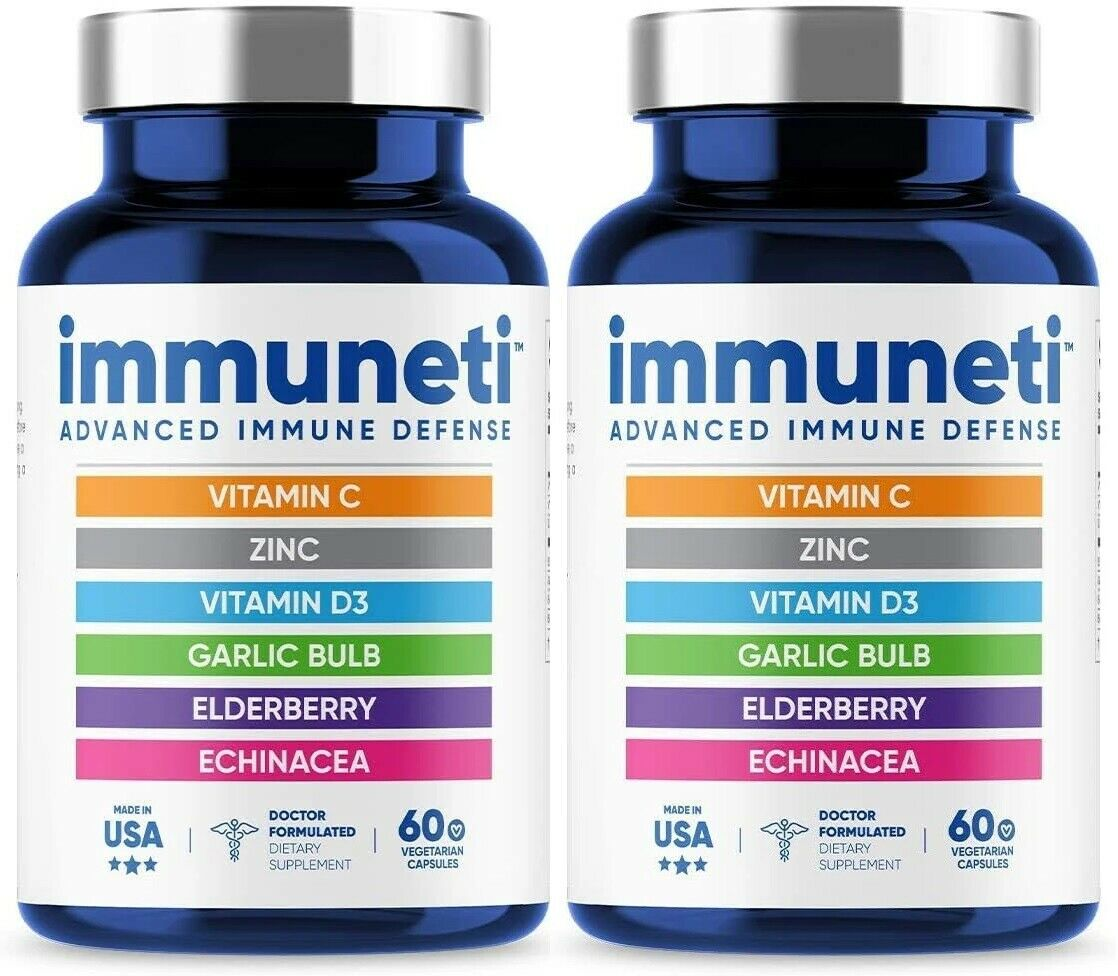 Immuneti - Advanced Immune Defense (6 capsules) 6 in 1 formula - 2 bottles