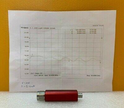 Noisecom St Mc65257 10 Mhz To 18 Ghz 15 Db Enr 28vdc Noise Source. New