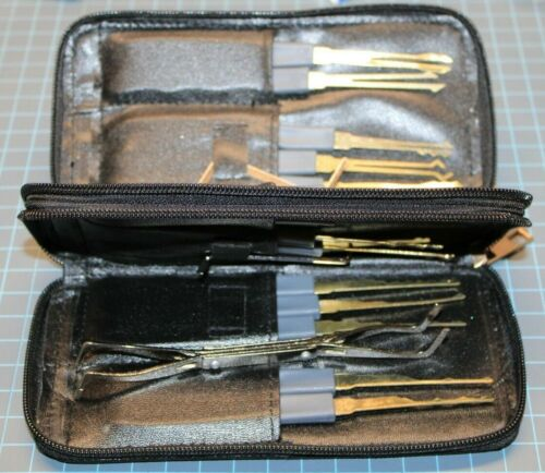 24 Piece Locksmith Training Practice Tool Kit