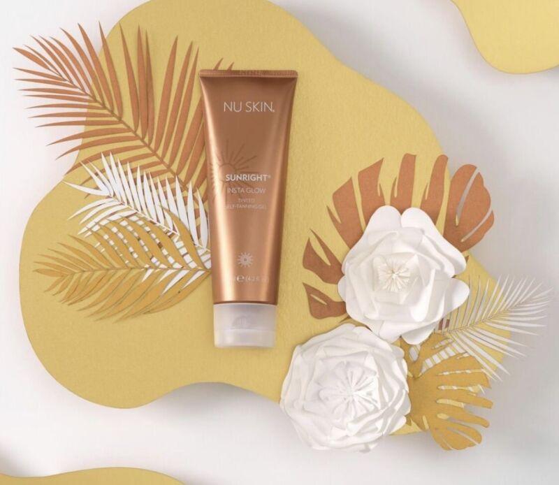 Nuskin Nu Skin Sunright INSTA GLOW Self Tanning Gel, Exp 06/2022
