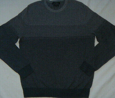 NEW Mens Marc Anthony Slim Fit Luxury Blend Cotton/Merino Wool/Cashmere Sweater  Mens Luxury Wool Cashmere