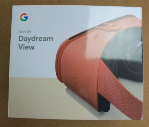 Google Daydream View 2nd Generation Virtual Reality Headset Coral G014A D9SCA