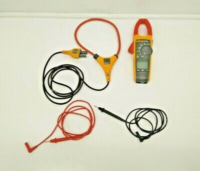 Fluke 375 True Rms Clamp Meter With Iflex I2500-18 Br