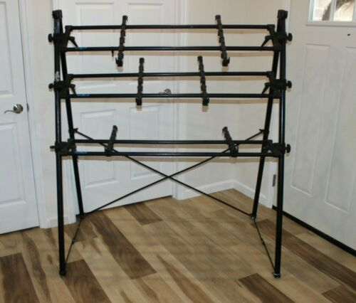 Pro Manfrotto Italian made Vintage keyboard 3 tier adjustable stand A Frame 80