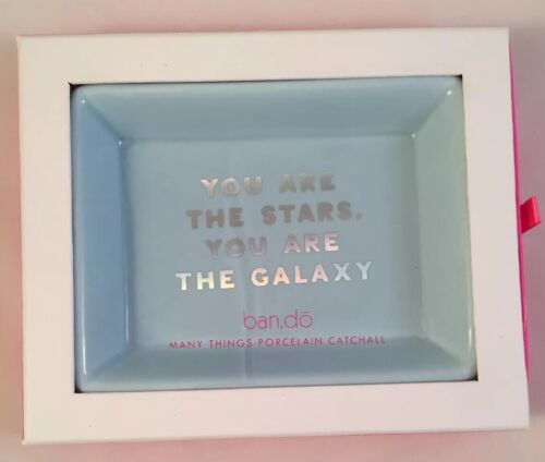 BAN.DO - Many Things Porcelain Catchall Tray - Stars/Galaxy