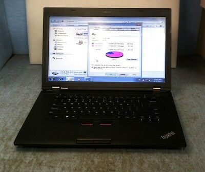"Lenovo Thinkpad L530 15.6"" Laptop Core i5-3230M, 4GB RAM, 297GB HDD WINDOWS 7"