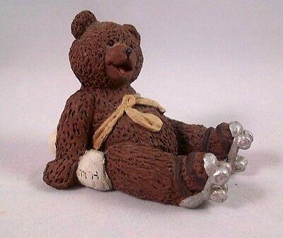 All Gods Children Figurine ZIZI Bear Miss Martha Originals Signed 1995
