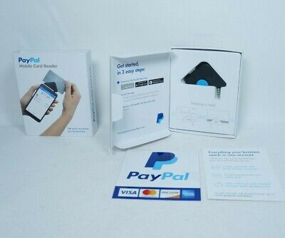 Reader Paypal Black Swipe Pcsusdcr Card Bluetooth Credit Connects Wire