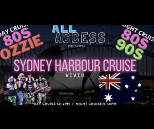 All Access 80s Vivid Sydney Cruise - Seeking 1 or 2 tix