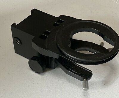 Olympus Bh-2 Microscope Stage And Condenser Holder