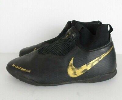 Nike Phanton Vsn Ghost Shoes Size Youth 5.5 Men's Dynamic Fit Black Gold