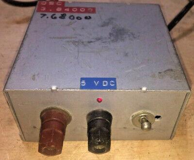 Rf Signal Generator Oscillator Home Made Found In Silent Key Ham Shack