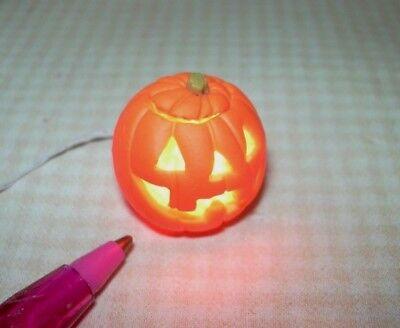 Adinolfi HAPPY Halloween Jack-o-Lantern, Electrified: DOLLHOUSE Miniatures 1:12 (Happy Happy Happy Halloween)