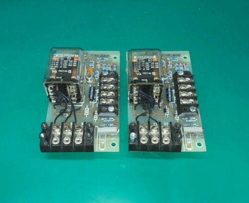 QTY 1 - MCS RELAY BOARD B508-021-8 WITH DELTROL RELAY