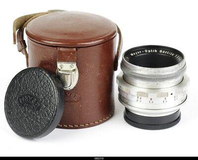 Lens Meyer Primoplan 1.9/58mm No.1393107  for Contax S Pentax M42