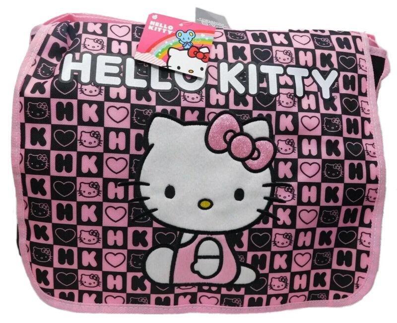 Hello Kitty Girls Dice Oversize Messenger Bag Brand NEW