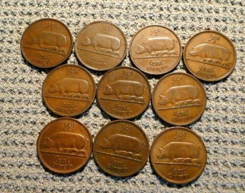 IRELAND 10 1/2 PENNY COINS KM # 10