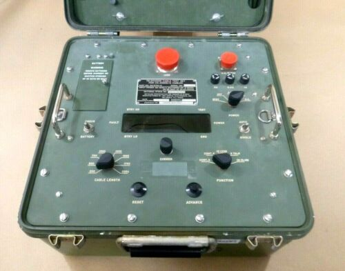 USGI Military AN/GTM-12 Telephone Cable Test Set For CX-4566/G Cable