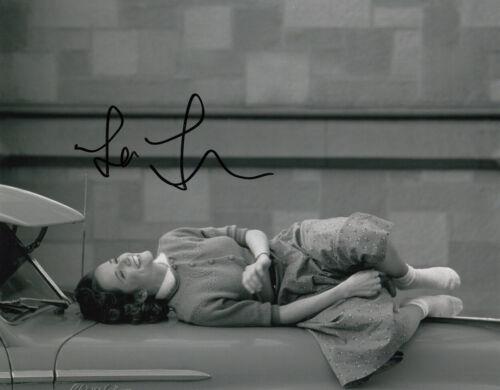 Lea Thompson Back To The Future signed 10x8 photo AFTAL & UACC [16518] FULL INFO