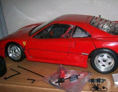 Pocher Rivarossi Ferrari F40 Diecast 1:8 Model Super Car