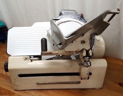 Globe Slicing Machine Model 150 Vintage Gravity Feed Meat Slicer Parts Repair