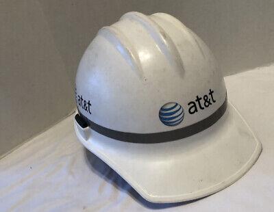 Vintage Jackson Att Construction Helmet Hard Hat