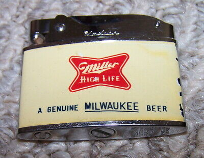Vintage Miller High Life Advertising Lighter by Hadson