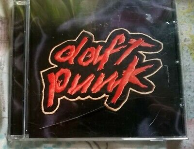 """DAFT PUNK - """"HOMEWORK"""" 1997 DEBUT CD ALBUM (ELECTRONIC MUSIC) for sale  Shipping to United States"""
