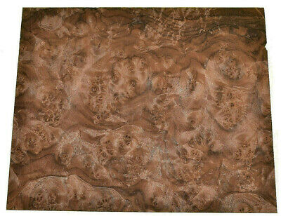 Walnut Burl Raw Wood Veneer Sheets 10 X 12 Inches 142nd Thick   7654-30