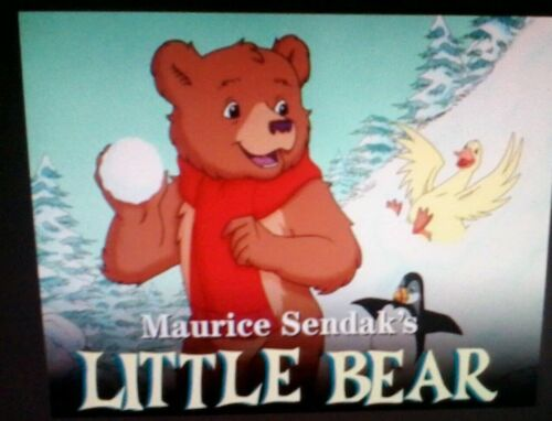 SOLD AS BLANKS CARTOONS VHS MAURICE SENDAK KIDS PBS CLASSIC LITTLE BEAR 6 HOURS