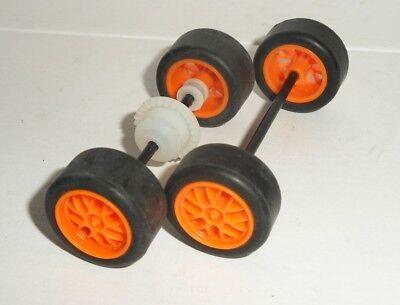 Scalextric - Axle Sets - GT Endurance Orange - Exc. Cdn.