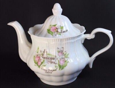 Prince Edward Island Fine Bone China Tea Pot