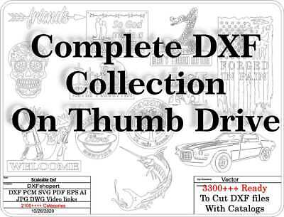 Dxf Cnc Dxf For Plasma Router Vector Complete Dxf Collection Current 10282020