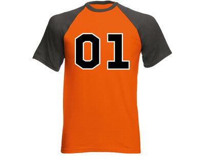 ral Lee 01 Funny Mens T-Shirt (12 Colours) (General Lee Kostüm)