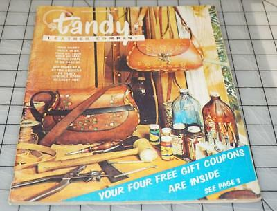 Vintage 70's TANDY LEATHER Company Leathercraft Ideas Supplies Catalog No. 106 (Catalog Party Ideas)