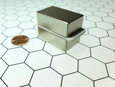 2 Neodymium N52 Block Magnets Rare Earth Super Strong Neo Magnet Gold Tester