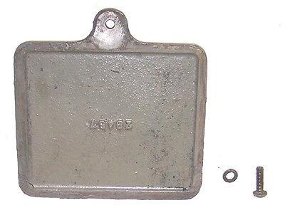 Miehle V-50 Vertical Cylinder Letterpress Cam Guard Cover Part 28457 Screw