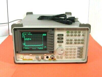 Hewlett Packard Hp 8591a Spectrum Analyzer 9 Khz To 1.8 Ghz Good Working