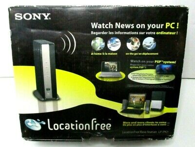 Sony Locationfree Base Station LF-PK 1 Watch News On Your PC New