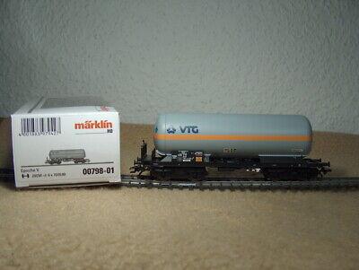 Märklin 00798-01 Kesselwagen der VTG, 4-achsig mit Bremserbühne, DB, OVG