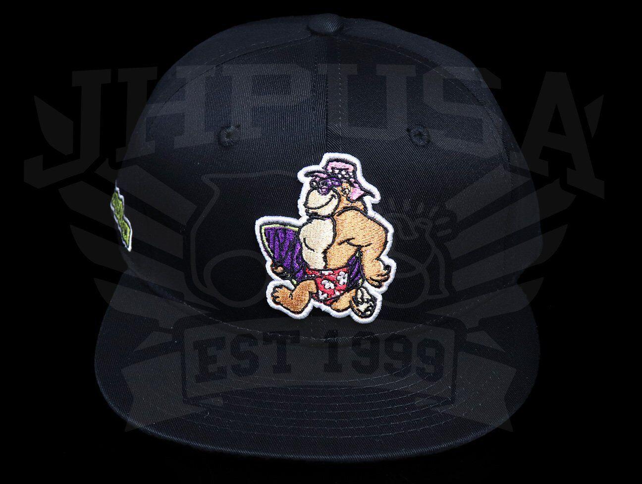 Thrilla Krew TKG Dot Logo Black Snapback Cap